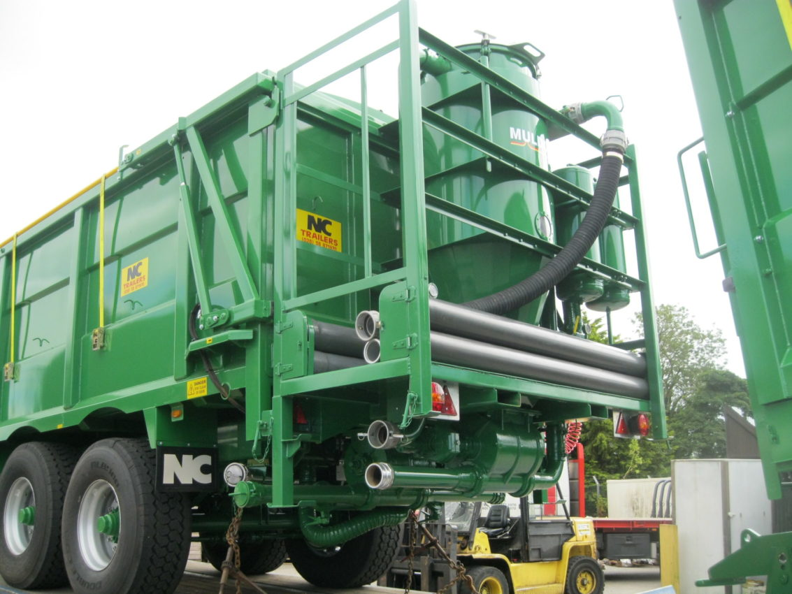 Grain Blower System : Grain blower and vacuum system nc engineering