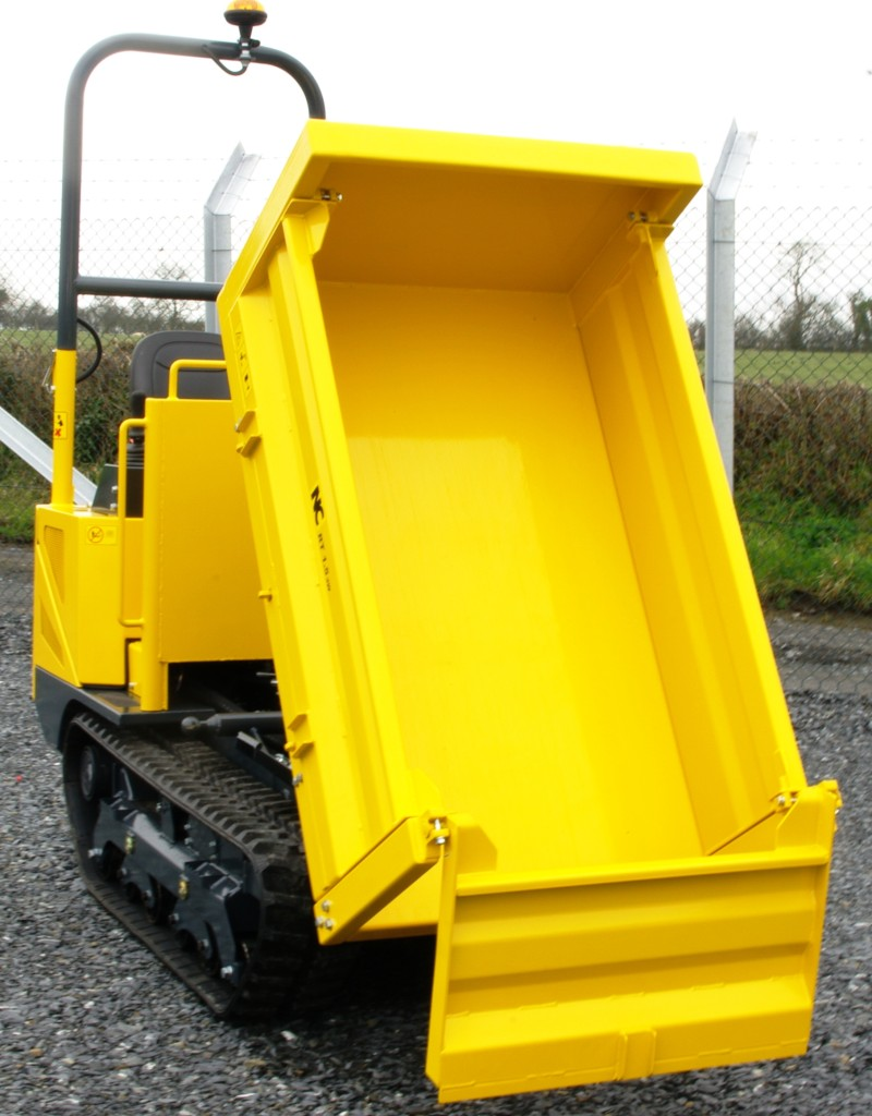 NC 1.5T RT 3 Way Tip Site Dumper