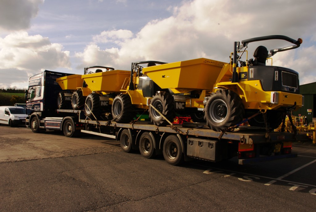 Thomas Plant Hire in North Wales