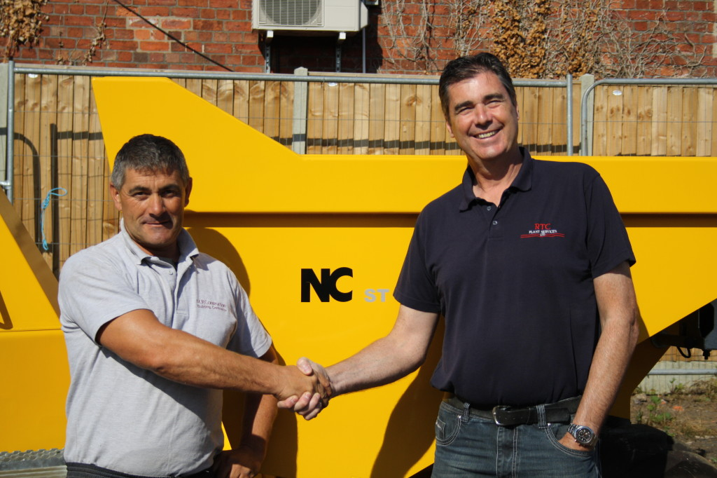 Tom Calton RTC and Andrew Tack MR Construction